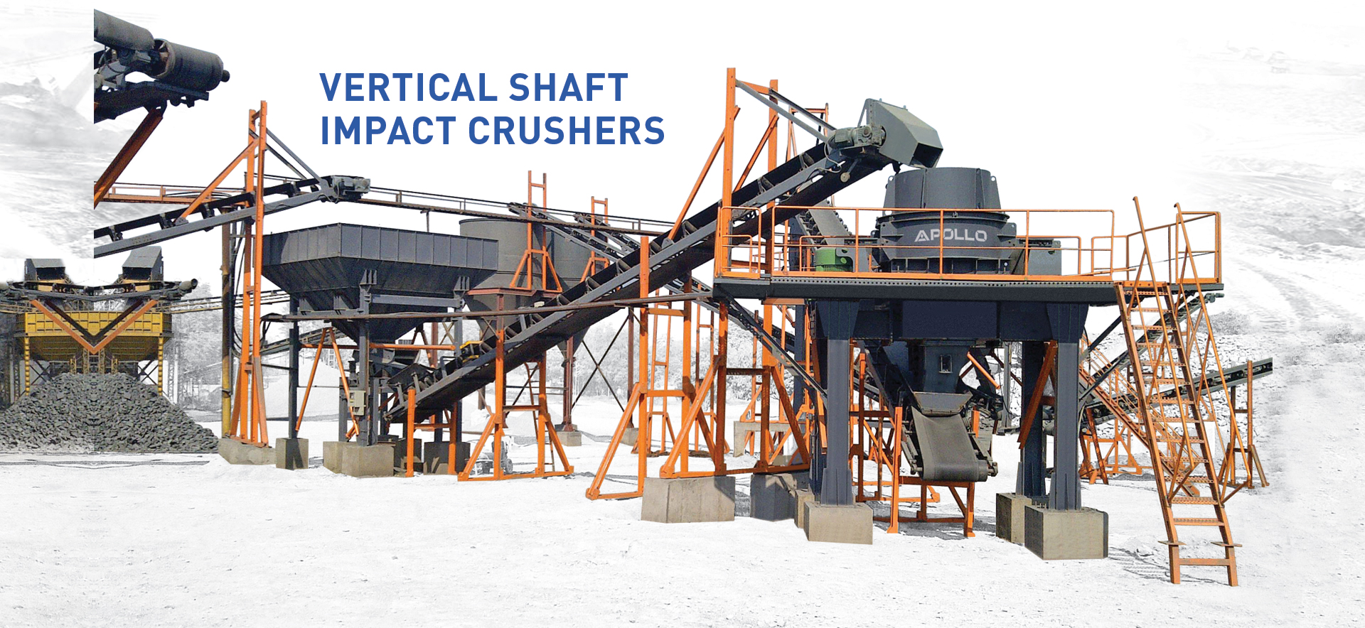apollo | vertical shaft impact crusher